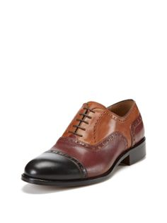 Cap Toe Oxfords by Wall + Water