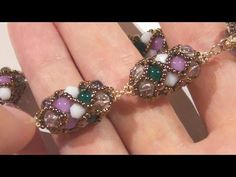 RAW bracelet and earrings made using seed beads and cheap beads - YouTube