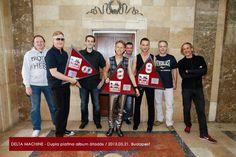 Double platinum album for DELTA MACHINE,Depeche Mode in Hungary