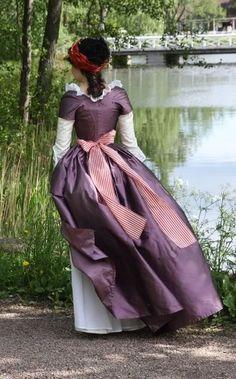 Before the Automobile: 1780's robe à la Turque, 2009