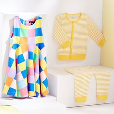 Bright colors and graphic prints for the most stylish kids on the playground.