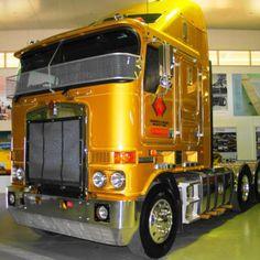 Kenworth Museum | National Road Transport Hall of Fame Big Rig Trucks, Semi Trucks, Old Trucks, National Road, Road Transport, Cab Over, Kenworth Trucks, Tractors, Transportation