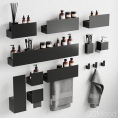 Bathroom Design Luxury, Bathroom Design Small, Bathroom Layout, Laundry In Bathroom, Master Bathroom, Home Room Design, House Design, Bathroom Accesories, Bathroom Organisation
