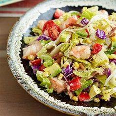 Avocado & Shrimp Chopped Salad   - EatingWell.com. Great reviews!