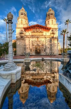 Hearst Castle is a National and California Historical Landmark mansion located on the Central Coast of California