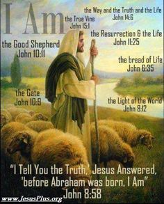 "Jesus said, ""I am the Way and the Truth and the Life. No one comes to the Father except through me. John (Jesus was the MEDIATOR, and we must pray through his name when praying to Jehovah (God Almighty). Jesus Quotes, Bible Quotes, Biblical Quotes, Christian Faith, Christian Quotes, Christian Artwork, Christian Pictures, Christian Wallpaper, The Great I Am"