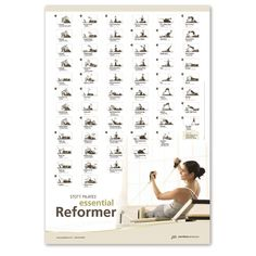135 best pilates images on pinterest pilates workout videos stott pilates essential reformer wall chart fandeluxe Images