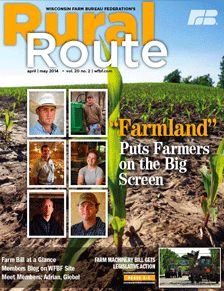 A new issue is available of Wisconsin Farm Bureau's Rural Route magazine! #agreading