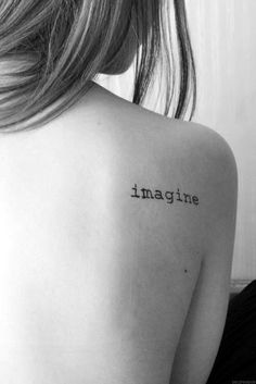40 Stimulating Written Tattoos For Women - Bored Art