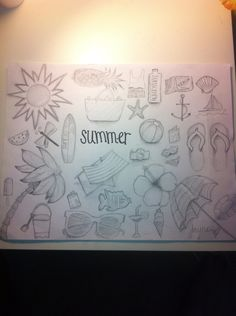 Summer drawing