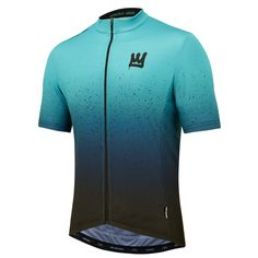 Aroe x Morvelo Fader Blue Jersey Cycling Wear, Bike Wear, Cycling Jerseys, Cycling Bikes, Cycling Outfit, Road Bikes, Cycling Equipment, Cycling Tops, Cycling Shorts