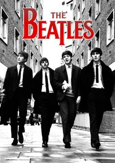 The Beatles in London, from left to right, John Lennon, Ringo Starr, Paul McCartney and George Harrison. Foto Beatles, Beatles Poster, 3d Poster, Rock Poster, Les Beatles, Beatles Art, Great Bands, Cool Bands, Musica Pop Rock