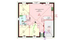 Sweet Home, Floor Plans, Map, How To Plan, Architecture, Construction, News, Chalets, Simple House Plans
