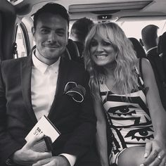 lou on the way to the red carpet!