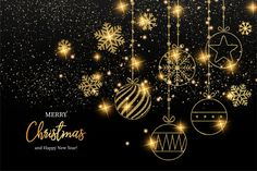 Feliz natal elegante e feliz ano novo ca. Happy New Year Hd, Happy New Year Greetings, New Year Greeting Cards, Merry Christmas And Happy New Year, Christmas Wishes, Happy Holidays, Christmas Cards, Hygge Christmas, Vector Christmas
