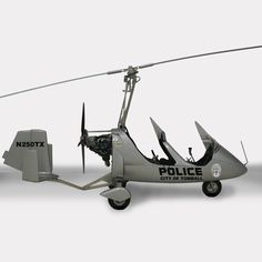 A number of law enforcement agencies are now using gyroplanes in place of helicopters. The Tomball Texas Autogyro was the First MTO Sport in US Law Enforcement Deployed.