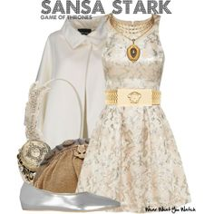 Inspired by Sophie Turner as Sansa Stark on Game of Thrones.