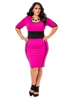awesome 5 plus size pink dresses for spring style