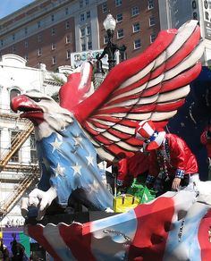 4th of July float by Trinimoi, via Flickr