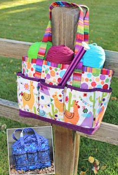 Projects To Go Tote Pattern in PDF