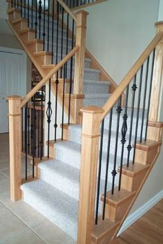 False Tread Cap Stairs Pinterest Foyers And Staircases