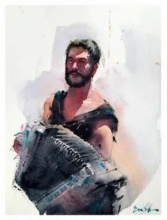 Eudes Correia: 2 тыс изображений найдено в Яндекс.Картинках Watercolor Illustration, Watercolor Paintings, Portrait Sketches, Artist, Colour, Image, Projects, Watercolor Portraits, Watercolor