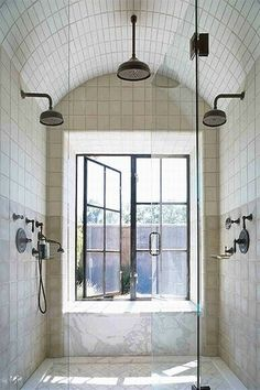 Walk In Shower for one person or two!