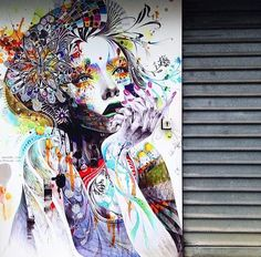 Wonderful new Street Art by Minjae Lee in Bordeaux, France #art #streetart