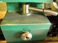 Lathe Tailstock Side Handle by Captainleeward -- Tail stock side handle Mod. Made from CRS on the.