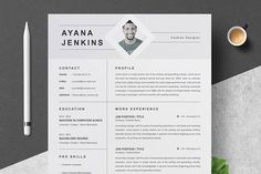 Are you looking for a editable resume template? Sign up for our job hunting ideas and download this template for free. You can easily adjust it in MS Word or Pages. Resume Format, Resume Cv, Resume Design, Modern Resume Template, Resume Template Free, Marketing Resume, Basic Resume, Job Employment, Cover Letter Template