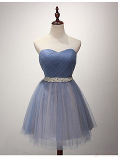 Tulle cute  #homecomingdresses, #SIMIBridal