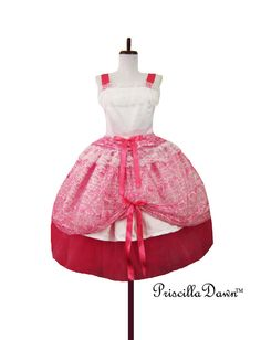 Pink Princess ruffle dress Size small/medium one by priscilladawn