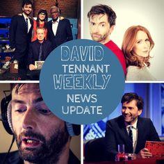 David Tennant Weekly News Update: Monday 26th October - Sunday 1st November