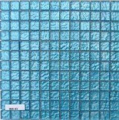mosaique bleue salle de bain - Recherche Google