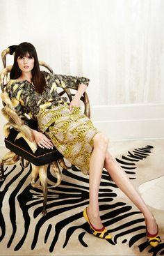 kelly wearstler yellow prints