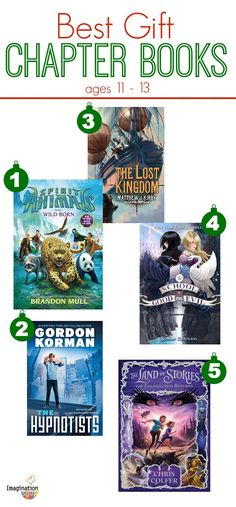 The BEST chapter books of 2013 to give your 11 - 13 year olds.