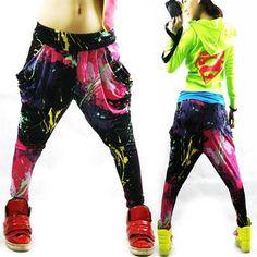 Jazz hiphop jazz dance hip-hop pants ds doodle spring and sum... More