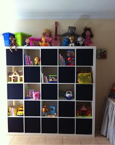 Expedit in Kids Playroom - ideas for baby bedroom