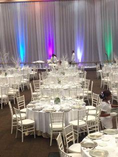All white Corporate event