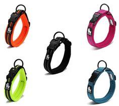 TrueLove Pet Dog  Soft Adjustable Padded Reflective Night Safety Collar XXS-XXXL #Truelove