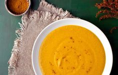 Creamy Cashew Butternut Squash Soup by Dawn Lerman
