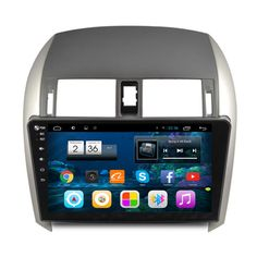 "10.2"" Quad Core Android 4.4 Car Stereo Audio Head Unit Headunit Autoradio for Toyota Corolla 2007 2008 2009 2010 2011 2012 2013"
