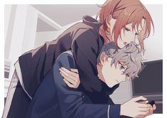 Anime Cupples, Dark Anime, Kawaii Anime, Anime Art, Anime Couples Drawings, Couple Drawings, Anime Boy Sketch, Anime Friendship, Online Comics