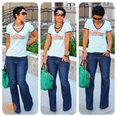 OOTD: #OldNavy Never Looked So Good in T-shirt + Jeans  details and links @ http://mimigoodwin.blogspot.com/2012/10/old-navy-never-looked-so-good-in-t.html