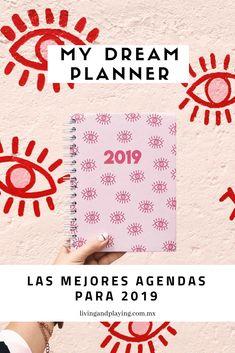 My Dream Planner. La mejor agenda creada por una blogger, 100% mexicana y con diseño de Patty Cascar Lee más en el blog: Las mejores Agendas para 2019 Planners, Boss Babe, Blog, Day Planners, School, Get Well Soon, Creativity, Blogging, Organizers