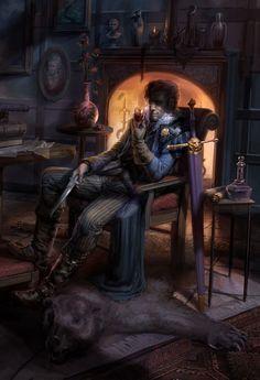 A Quiet Man by PeteMohrbacher on DeviantArt
