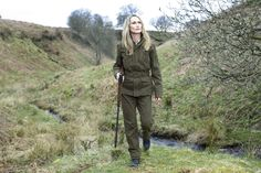 Ladies' Shooting clothes.  Looks like Laksen or Harkila if I'm not mistaken.