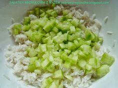 PotrawyRegionalne: SAŁATKA BROKUŁOWA Z RYŻEM Grains, Salads, Food, Essen, Meals, Seeds, Yemek, Salad, Eten