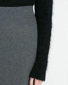 Image 4 of LONG SKIRT from Zara