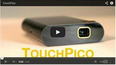 TouchPico. Interactive Android projector with touch interface and wireless streaming